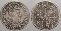 3 Gröscher 1 1595  I Polen Sigismund III. 1587-1632. Selten. Sehr schön... 150,00 EUR  +  5,00 EUR shipping