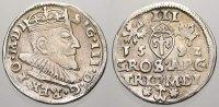 3 Gröscher 1 1592 Polen-Litauen Sigismund III. 1587-1632. Fast vorzügli... 125,00 EUR  +  5,00 EUR shipping
