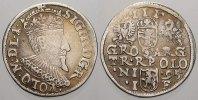 3 Gröscher 1 1595  I Polen Sigismund III. 1587-1632. Sehr selten. Sehr ... 125,00 EUR  zzgl. 5,00 EUR Versand