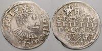 3 Gröscher 1 1595  I Polen Sigismund III. 1587-1632. Sehr selten. Kl. P... 195,00 EUR  +  5,00 EUR shipping