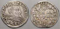 3 Gröscher 1 1597  I Polen Sigismund III. 1587-1632. Sehr selten. Sehr ... 175,00 EUR  +  5,00 EUR shipping