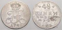 1/48 Taler 1748 Mecklenburg-Strelitz Adolph Friedrich III. 1708-1752. S... 175,00 EUR  +  5,00 EUR shipping