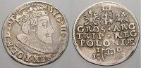 3 Gröscher 1 1589  ID Polen Sigismund III. 1587-1632. Seltene Variante.... 125,00 EUR  +  5,00 EUR shipping