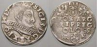 3 Gröscher 1 1598  HR Polen Sigismund III. 1587-1632. Seltene variante.... 195,00 EUR  zzgl. 5,00 EUR Versand