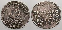 3 Gröscher 1 1598  HR Polen Sigismund III. 1587-1632. Selten. Kl. Präge... 175,00 EUR  +  5,00 EUR shipping