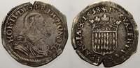 5 Sols 1658 Monaco Honorius II. 1604-1662. Sehr selten. Kl. Kratzer und... 395,00 EUR free shipping