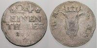 1/24 Taler 1754 Mecklenburg-Schwerin Friedrich 1756-1785. Selten. Min. ... 145,00 EUR  +  5,00 EUR shipping