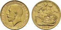Sovereign GOLD 1919 M, Australien Eduard VII. von Großbritannien, 1901-... 350,00 EUR  +  6,00 EUR shipping