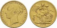 Sovereign GOLD 1872 S, Grossbritannien Victoria, 1837-1901, 1877 Kaiser... 400,00 EUR  +  6,00 EUR shipping
