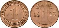 Rentenpfennig 1923 J. WEIMARER REPUBLIK  Stempelglanz  40,00 EUR  +  6,00 EUR shipping