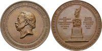 Bronzemedaille 1859, auf das Denkmal für Tschechien  Vorzüglich  125,00 EUR