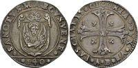 Scudo alla croce o. J. (1585/1587) AB. Italien Pasquale Cicogna, 1585-1... 400,00 EUR  +  6,00 EUR shipping
