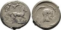 Tetradrachme 480/475 v. Chr. Sizilien Herrschaft der Deinomeniden, 485-... 950,00 EUR  +  6,00 EUR shipping
