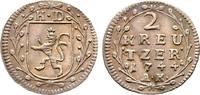 2 Kreuzer 1744, Darmstadt. diverse Ludwig VIII., 1739-1768 Leicht gewel... 35,00 EUR  +  6,00 EUR shipping