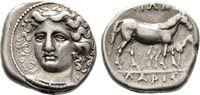 Drachme 365/340 v. Chr. Thessalien  Sehr schön  600,00 EUR  +  6,00 EUR shipping