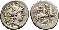 Denar 147 v. Chr., Rom. Republikanische Prägungen C. Terentius Lucanus ... 125,00 EUR