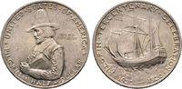 1/2 Dollar 1920, Pilgrim Tercentenar USA  Vorzüglich  80,00 EUR