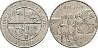 1000 Kronen 1974, Kopenhagen, 1100 Ja Island  Stempelglanz  35,00 EUR