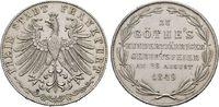 Doppelgulden 1849, 100. Geburtstag Goe Hessen  Vorzüglich  150,00 EUR