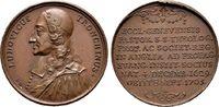 Bronzemedaille 1705, auf den Tod des  Pr Schweiz  Vorzüglich  40,00 EUR  +  6,00 EUR shipping