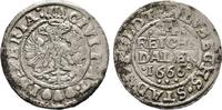 1/24 Reichstaler 1666, Diverse  Sehr schön  50,00 EUR  +  6,00 EUR shipping