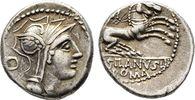 Denar 91 v. Chr. Republikanische Prägungen D. Iunius Silanus   75,00 EUR  +  6,00 EUR shipping