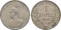 Rupie 1910 J. DEUTSCH-OSTAFRIKA  Sehr schön  50,00 EUR