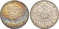 3 Mark 1914, Silberne Hochzeit. ANHALT, HERZOGTUM Friedrich II., 1904-1... 70,00 EUR