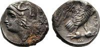 Drachme 302/281 v. Chr. Kalabrien  Sehr schön  75,00 EUR