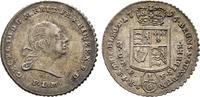 1/6 Taler Feinsilber nach Leipziger Fuss 1796, Diverse Georg III., 1760... 50,00 EUR  +  6,00 EUR shipping