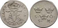 5 Öre 1725, Schweden Friedrich I. von Hessen-Kassel, 1720-1751, 1730 La... 180,00 EUR  +  6,00 EUR shipping