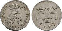 5 Öre 1722, Stockholm. Schweden Friedrich I. von Hessen-Kassel, 1720-17... 240,00 EUR