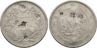 Yen Meiji 19 (1886), with chi Japan Mutsuhito, 1867-1912 Sehr schön  100,00 EUR