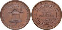 Bronzemedaille o. J. (1876), Werbejeton  USA  Vorzüglich  125,00 EUR