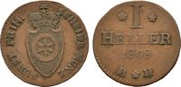 Cu-Heller 1808, Frankfurt. diverse Karl Theodor von Dalberg, Fürstprima... 35,00 EUR  +  6,00 EUR shipping
