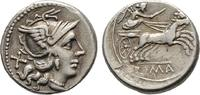 Republikanische Prägungen Denar 157/156 v. Chr., Rom. Sehr schön Anonym 100,00 EUR  zzgl. 4,50 EUR Versand