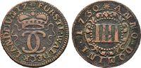 Hessen Cu-4 Pfennig 1730, Arolsen. Sehr schön/Vorzüglich Karl August Fri... 50,00 EUR  zzgl. 4,50 EUR Versand