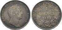 Baden-Württemberg Gulden 1839. Sehr schön Karl Leopold Friedrich, 1830-1... 25,00 EUR  zzgl. 4,50 EUR Versand