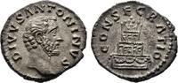 Denar 161, Kaiserliche Prägungen Marcus Aurelius für Divus Antoninus Pi... 200,00 EUR  +  6,00 EUR shipping