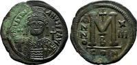 Follis 539/540 Konstantinopel Byzanz Justinianus I., 527-565. Gutes seh... 200,00 EUR  +  6,00 EUR shipping