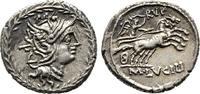 Denar 101 v. Chr., Republikanische Prägungen M. Lucilius Rufus Vorzügli... 200,00 EUR  +  6,00 EUR shipping