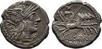 Denar 134 v. Chr., Republikanische Prägungen C. Aburius Geminus   100,00 EUR  +  6,00 EUR shipping