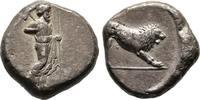 Tetradrachme,  Karien Dynast Hekatomnos, 395-377 v. Chr. Sehr schön  1200,00 EUR free shipping