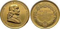 Bronzemedaille vergoldet 1844, a.d. 200-Jahr-Feier diverse  Sehr schön  50,00 EUR  zzgl. 4,50 EUR Versand