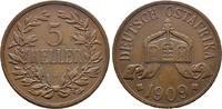 5 Heller 1909 J. DEUTSCH-OSTAFRIKA    70,00 EUR  +  6,00 EUR shipping