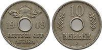 10 Heller 1909 J. DEUTSCH-OSTAFRIKA  Sehr schön  30,00 EUR  +  6,00 EUR shipping