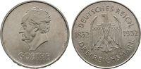3 Mark 1932 G, Goethe. WEIMARER REPUBLIK  Vorzüglich  85,00 EUR  +  6,00 EUR shipping