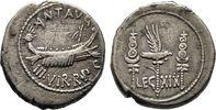 Denar 32/31 v. Chr., Heeresmzst Imperatorische Prägungen M. Antonius Se... 300,00 EUR  zzgl. 4,50 EUR Versand