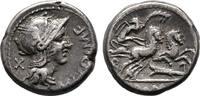 Denar 115/114 v. Chr., Republikanische Prägungen M. Cipius Sehr schön  75,00 EUR  +  6,00 EUR shipping