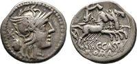 Denar 126 v. Chr., Republikanische Prägungen C. Cassius   75,00 EUR  +  6,00 EUR shipping